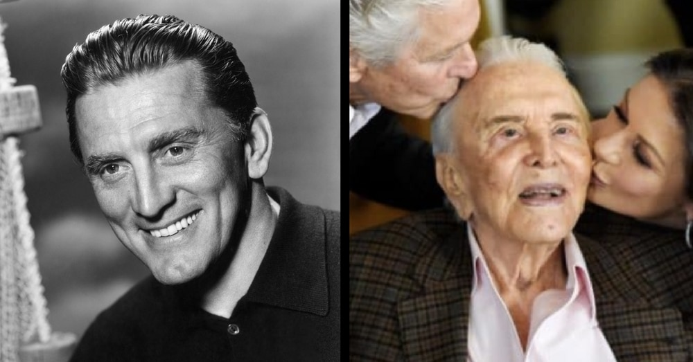 Kirk Douglas Celebrates His 100th Birthday! But Wait Till You See Who Shows Up To Toast Him…