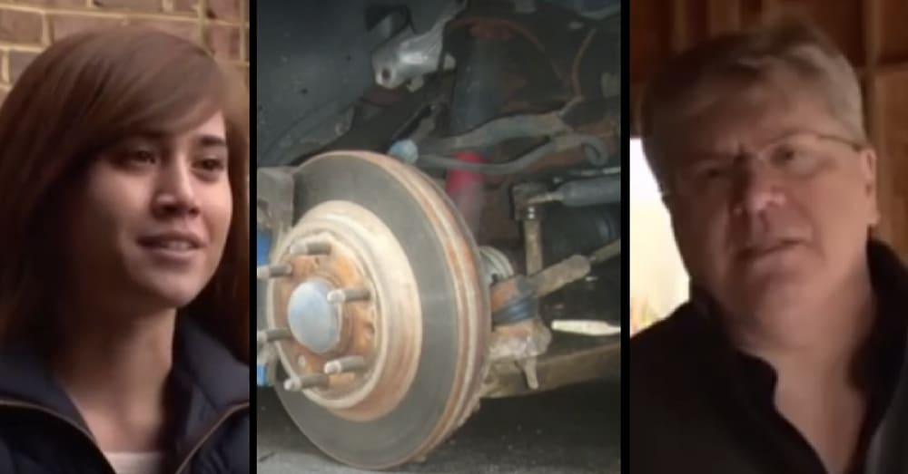Dad Trapped Under Burning Truck, Knows He's Gonna Die. Then He Sees 2 Tiny Feet…
