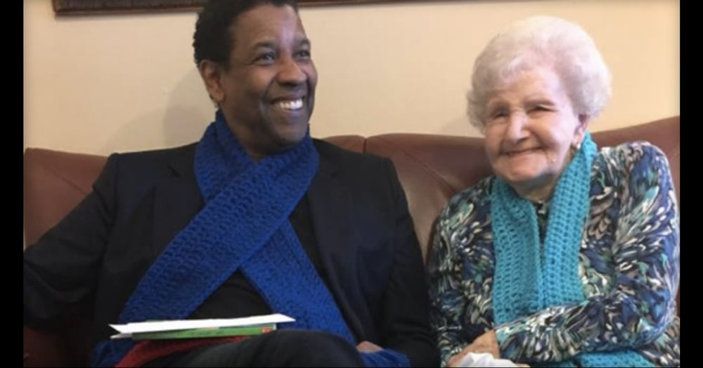 Denzel Washington Helps Childhood Librarian Celebrate 99th Birthday In Special Way