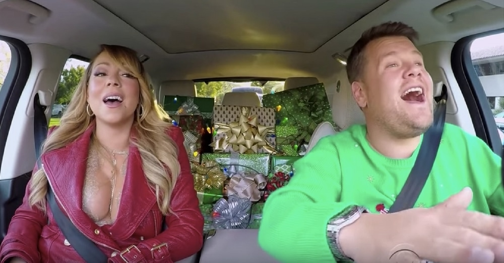 Mariah Carey Does Christmas Carpool Karaoke, Reveals Secret They've Been Hiding All Year