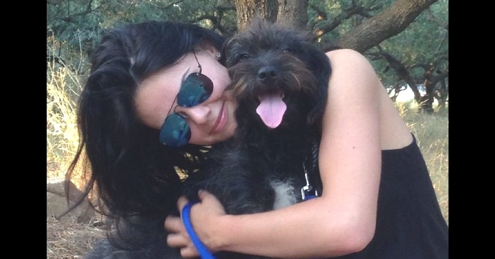 Stray Dog Saves Woman From Attackers, Then She Flies 6,000 Miles To Find Her