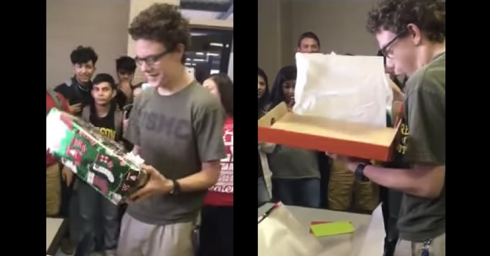 Teen Notices Special Needs Student's Shoes Don't Fit. What He Does Next? Wow