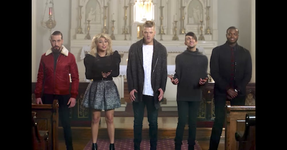 They Stand To Sing In An Empty Church. When They Open Their Mouths…I've Got Chills!