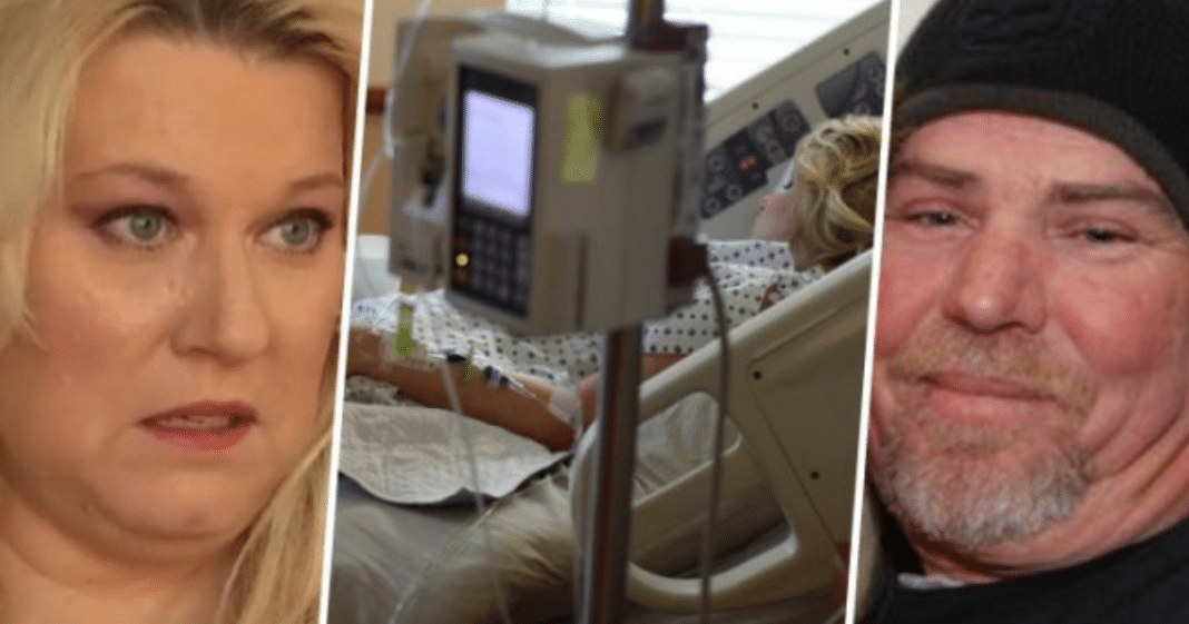 Wife in coma hears husband whisper truth as plug is pulled – and she fights back