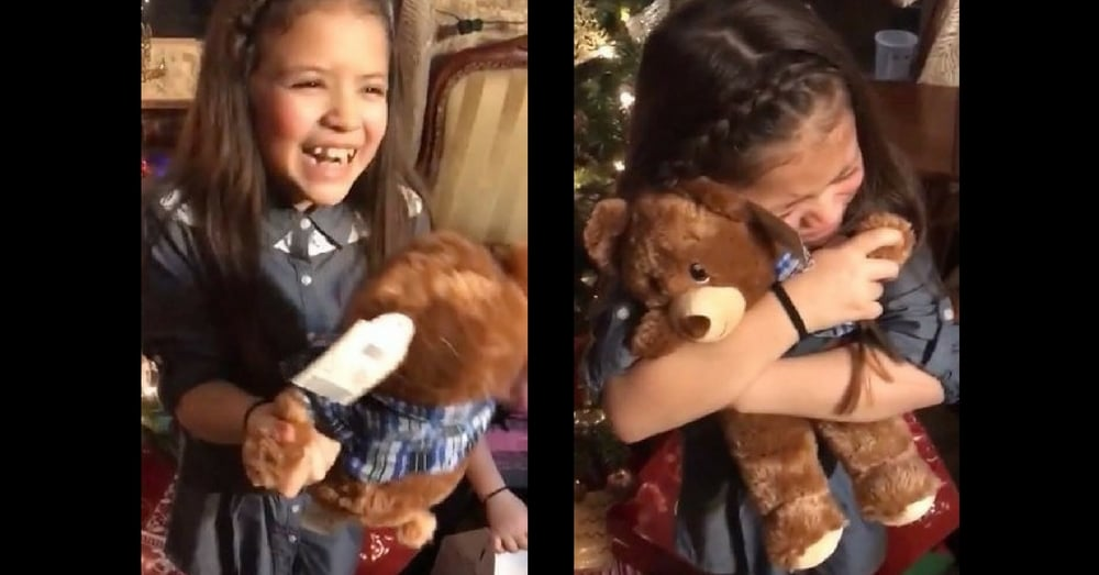 Her Grandpa Died Before Christmas, Then She Opens Her Gift And Hears A Familiar Voice…