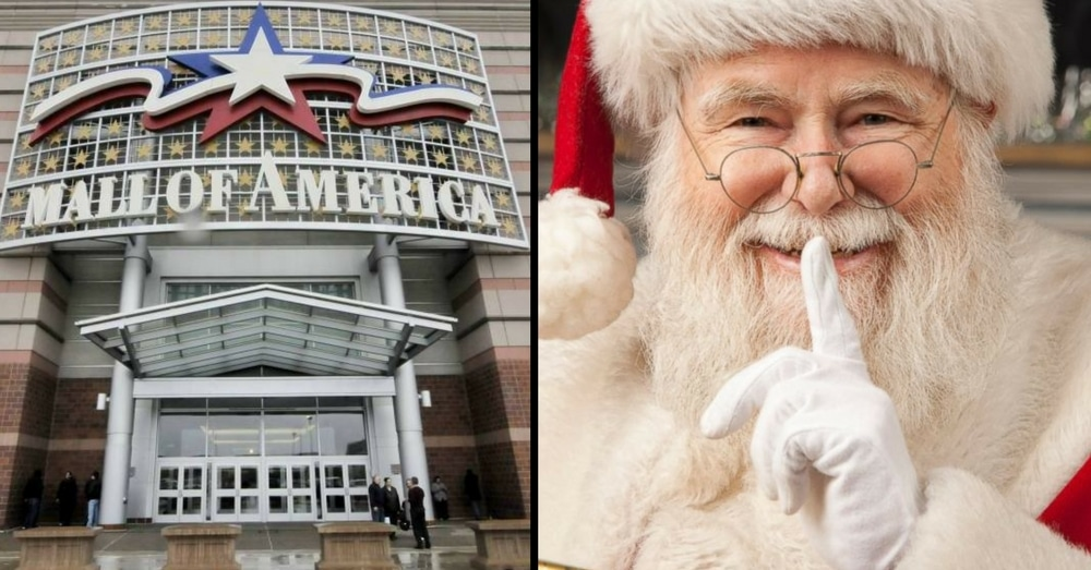 Mall Of America's Santa Will Look A Little Different This Year, And People Are Loving It