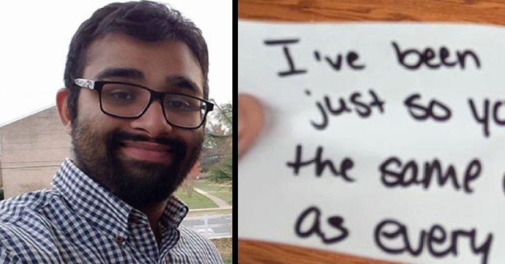 Deaf Man Tries To Order At Starbucks, Then Barista Hands Him This Note…