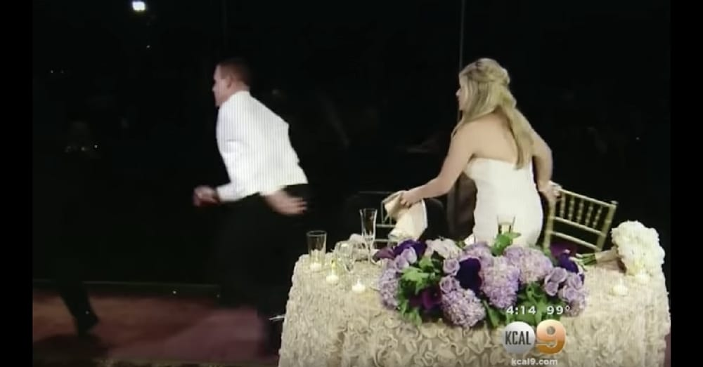 Groom Runs Away From Newlywed Table In Middle Of Speech. When I Saw Why…Holy Moly