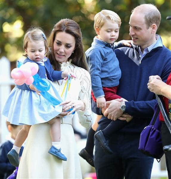Prince William and his family. Chris Jackson / Getty Images
