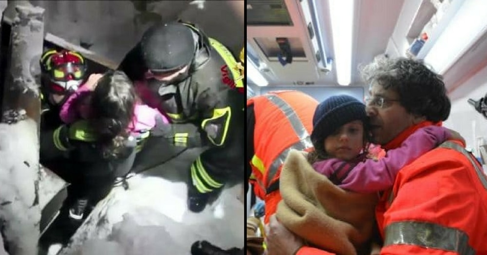 3 Kids Trapped In Ice After Devastating Avalanche. What 9-Yr-Old Does Next Is Amazing