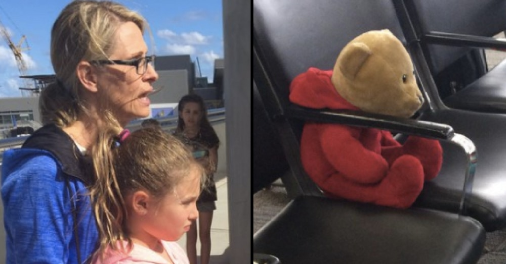 Girl Loses 'Irreplaceable' Bear In Airport Shooting. 4 Days Later The Unthinkable Happens