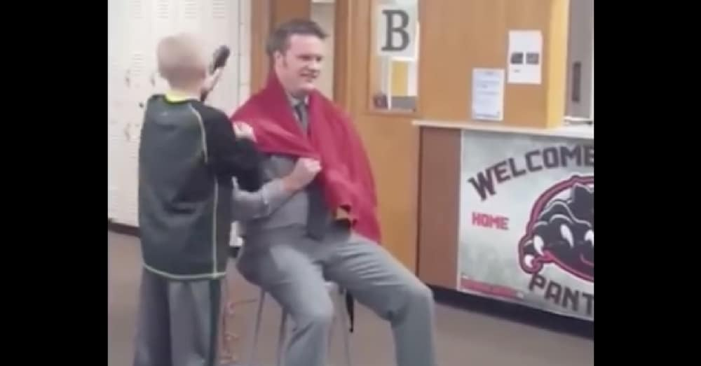 Classmates Mock Boy Who Shaved Head For Cancer, But What Principal Does Next Leaves Them At A Loss For Words