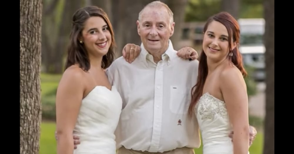 Neither Daughter Is Engaged But They Both Show Up In Bridal Gowns. When I Saw Why…Tears