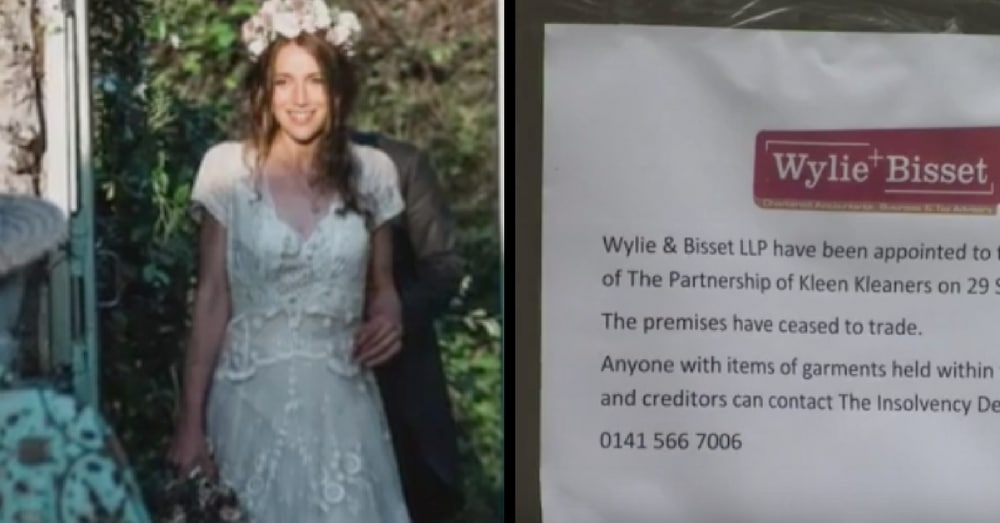 Bride Wears Grandma's 150-Year-Old Dress, Then Cleaners Tell Her They're Auctioning It Off