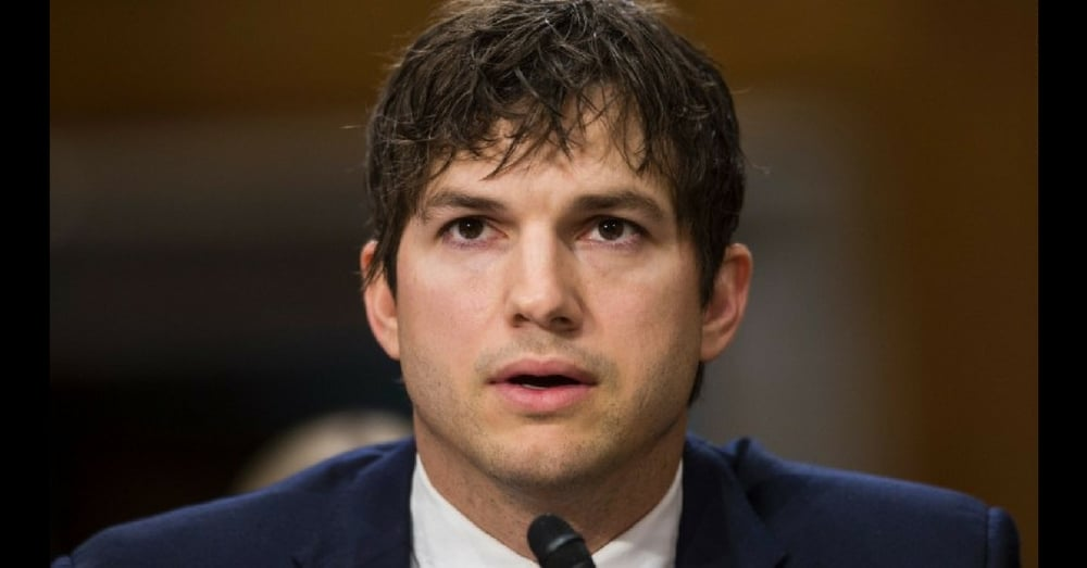 Senator Asks Ashton Kutcher About Sex Slavery. Actor's Response Leaves Entire Room In Tears