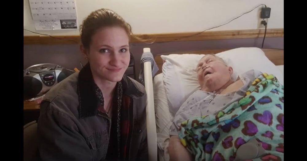 Caregiver Knows Elderly Patient Won't Last Long. What She Does Next? Amazing