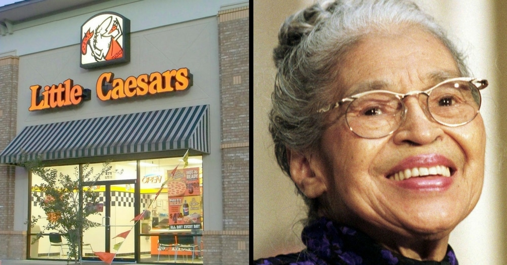 Little Caesars' Founder Secretly Paid Rosa Parks' Rent. Here's Why…