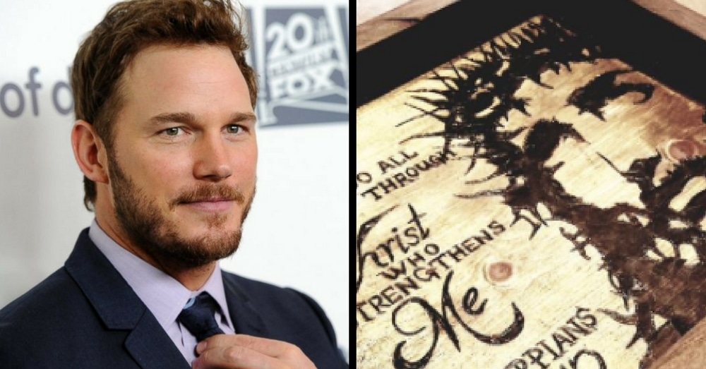 Chris Pratt Shares New Tray On Insta, Then Fans Notice Something About What's Written On It…