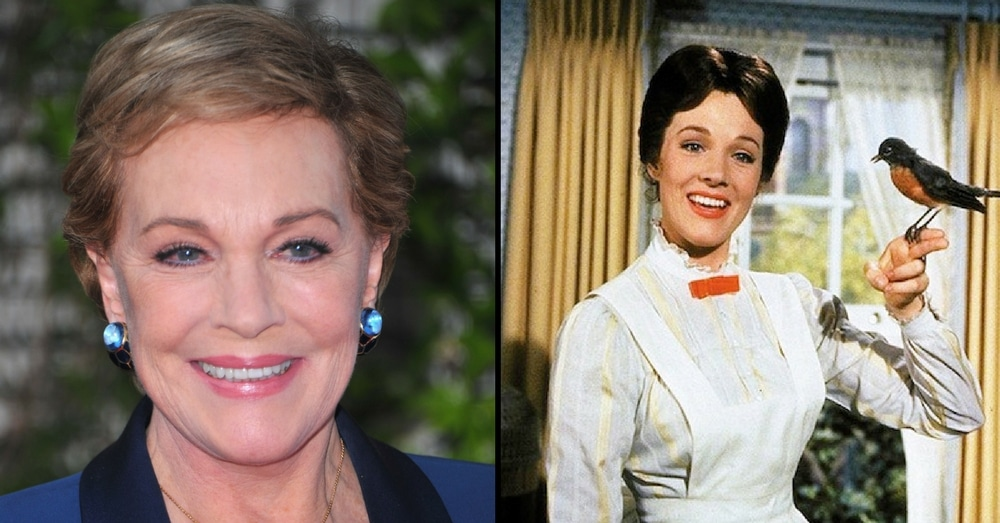 Julie Andrews Reveals She Almost Died While Filming 'Mary Poppins'!
