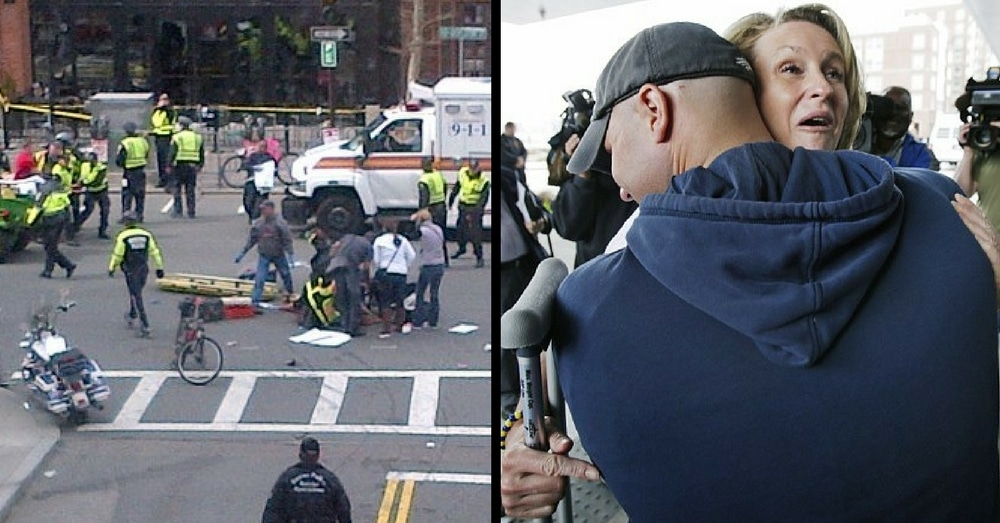 Firefighter Saved Her Life In Boston Bombing, 4 Yrs Later Asks Her 1 Question