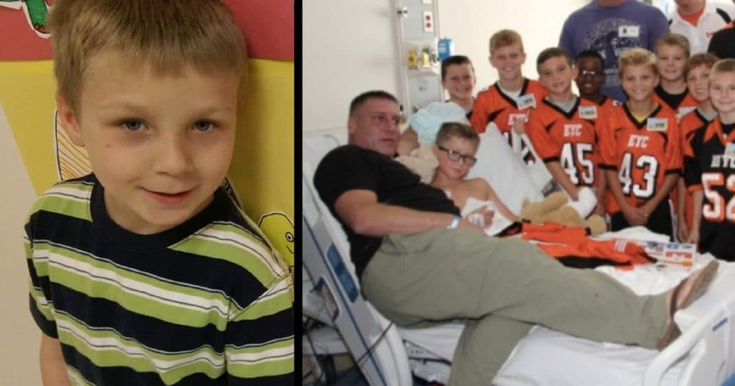 10-Yr-Old Diagnosed With Terminal Cancer, Veteran Dad Fights