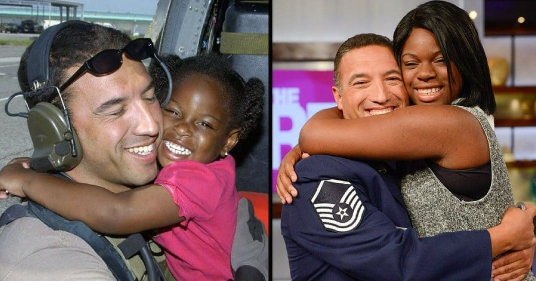 He Saved Her Life In Hurricane Katrina. 12 Yrs Later She Asks Him A Question