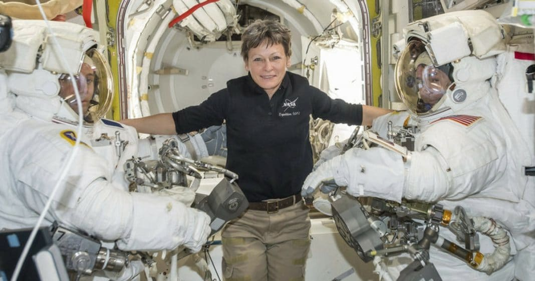 Hero Astronaut Sets New Space Record. When I Heard How Long She's Been Up There…Wow