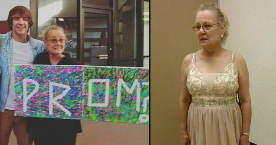 Teen Asks G'ma To Prom But School Says 'No.' What He Does Next Will Melt Your Heart