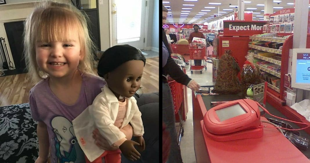 Cashier Asks Why She Doesn't Get Doll That 'Looks Like Her.' Girl's Response Couldn't Be More Perfect