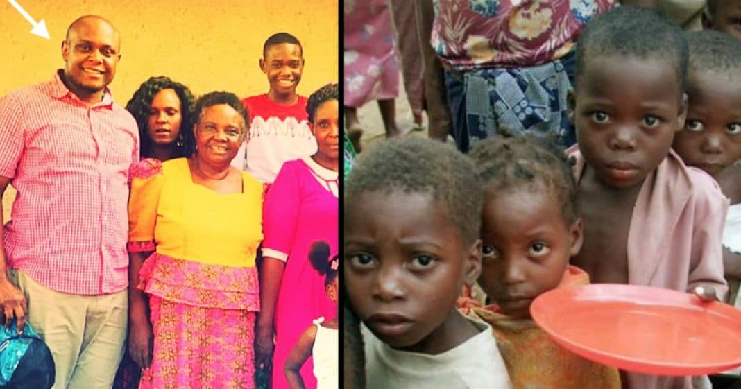 African Man Sees Kids Starving In His Country. What He Does Next Is Absolutely Stunning