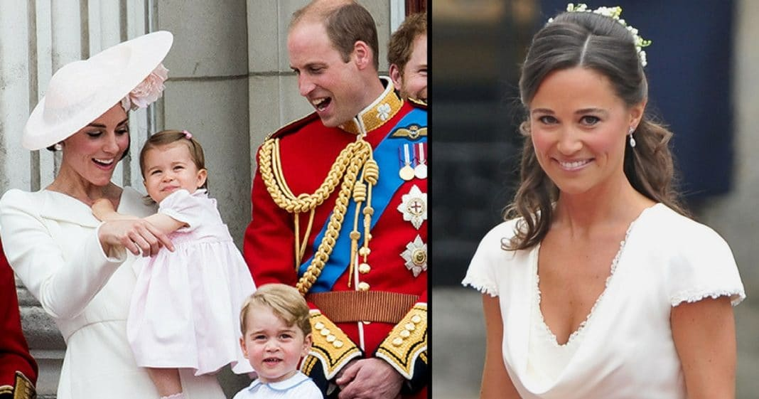 Palace Reveals Special Roles George And Charlotte Will Have In Aunt Pippa's Wedding