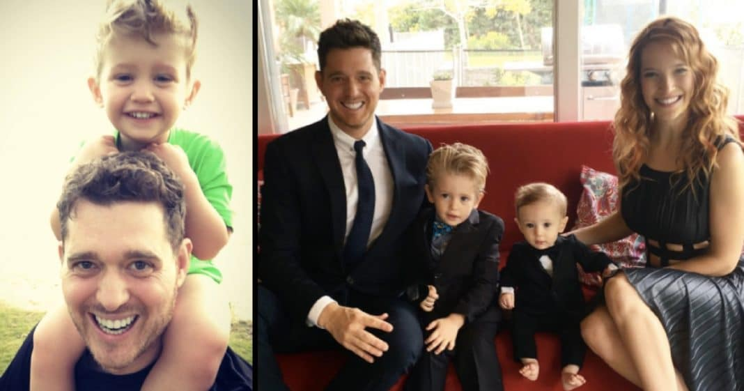 Michael Bublé's Wife Finally Breaks Silence On Son's Cancer Battle With New Revelation