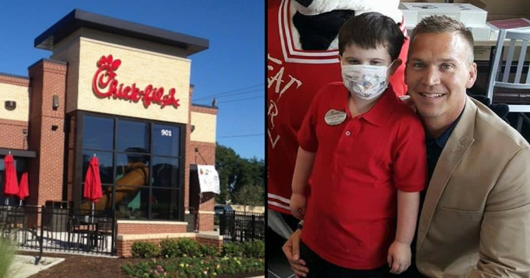 Boy With Allergies Can Only Eat 7 Foods. Then Chick-Fil-A Does Something That Leaves Mom In Tears