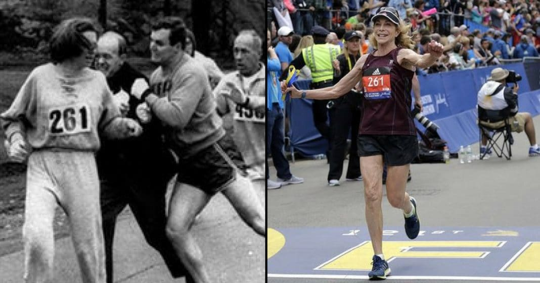 First Woman To Run Boston Marathon Does It Again – 50 Years Later