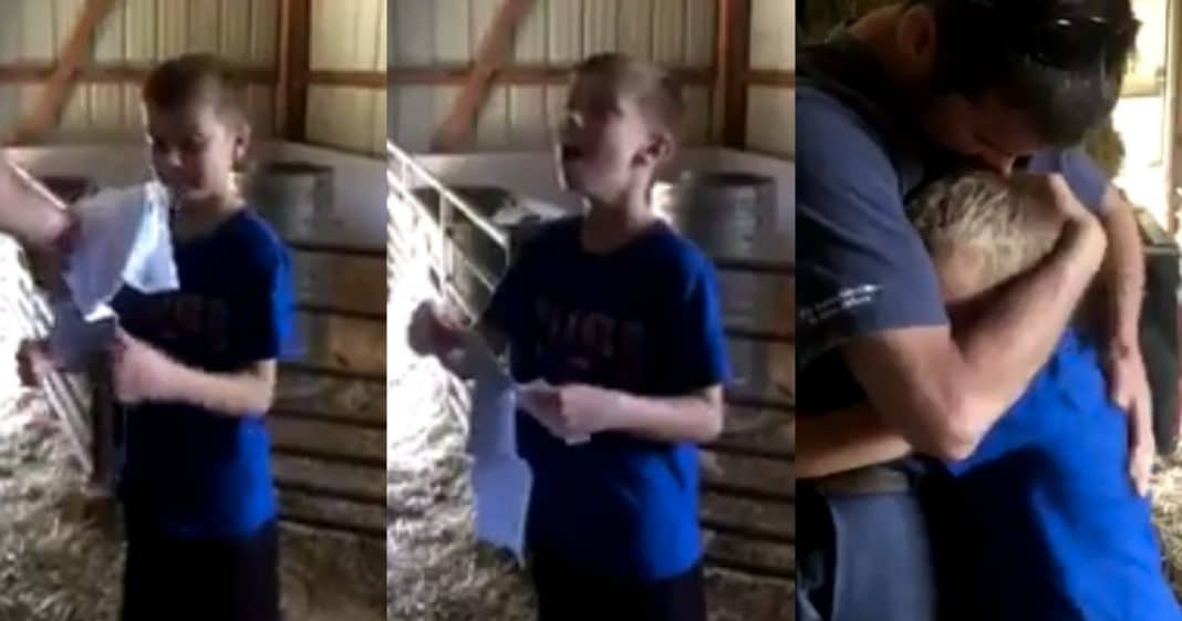Dad Asks Hard-Working Son If He Can Do 1 More Chore. When He Sees What It Is He Breaks Down In Tears