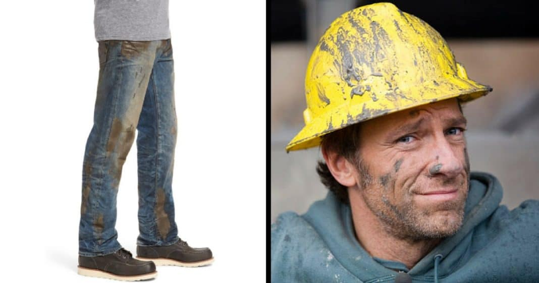 Nordstrom Sells $425 Dollar 'Muddy Jeans.' Mike Rowe's Response Is Golden…