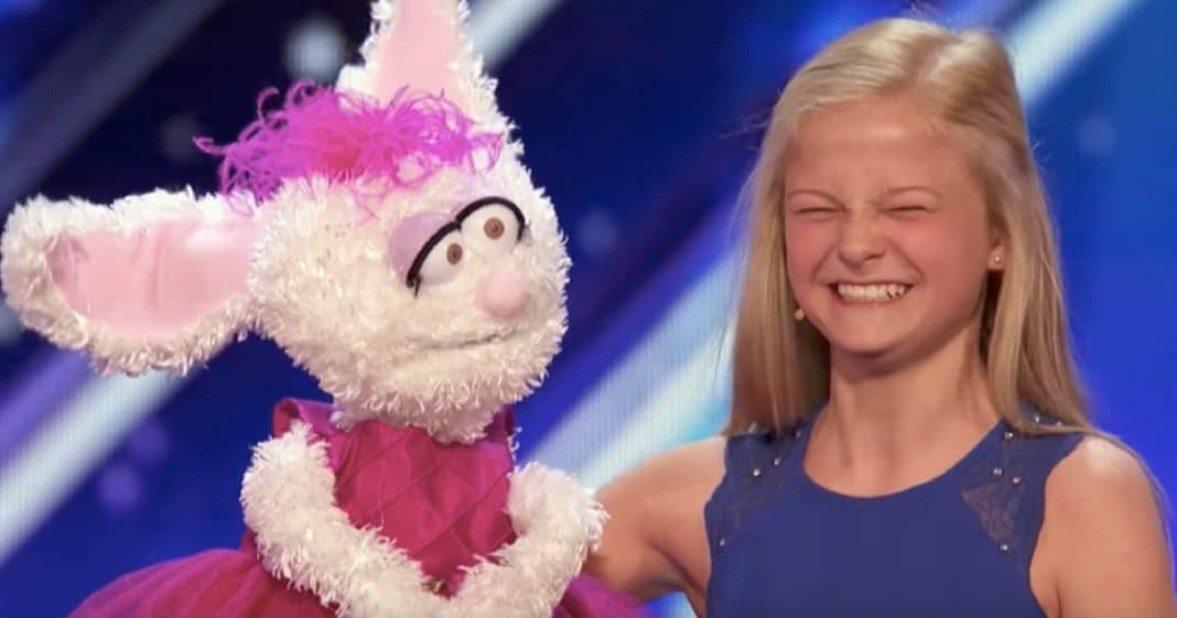 She Asks For Puppet To Help With Shyness. What She Does On 'Talent' Leaves Judges In Awe