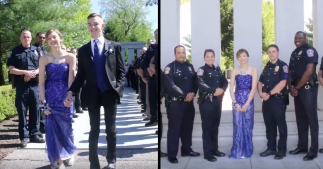 Daughter Takes Prom Pics At Father's Grave, But She Had No Idea This Would Be Waiting For Her…