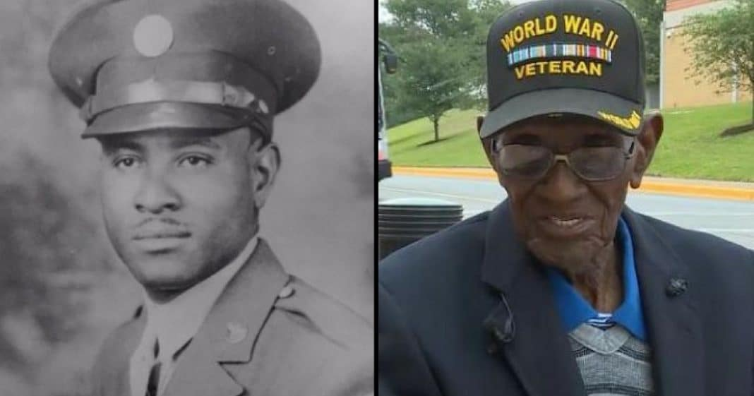 This Inspiring Man Is The World's Oldest Living WWII Veteran