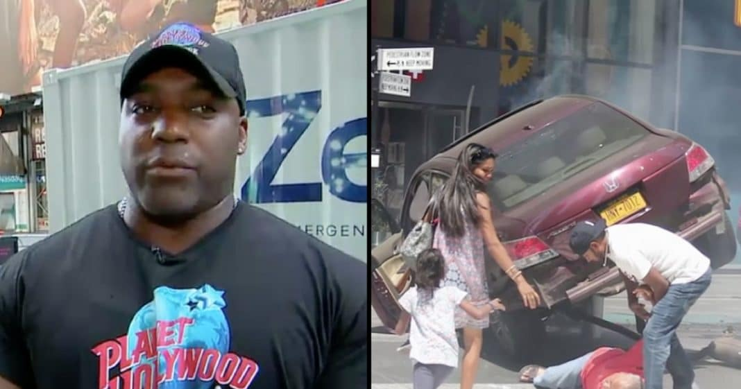 Restaurant Bouncer Reluctant Hero After Stopping Times Square Drunk Driver In His Tracks
