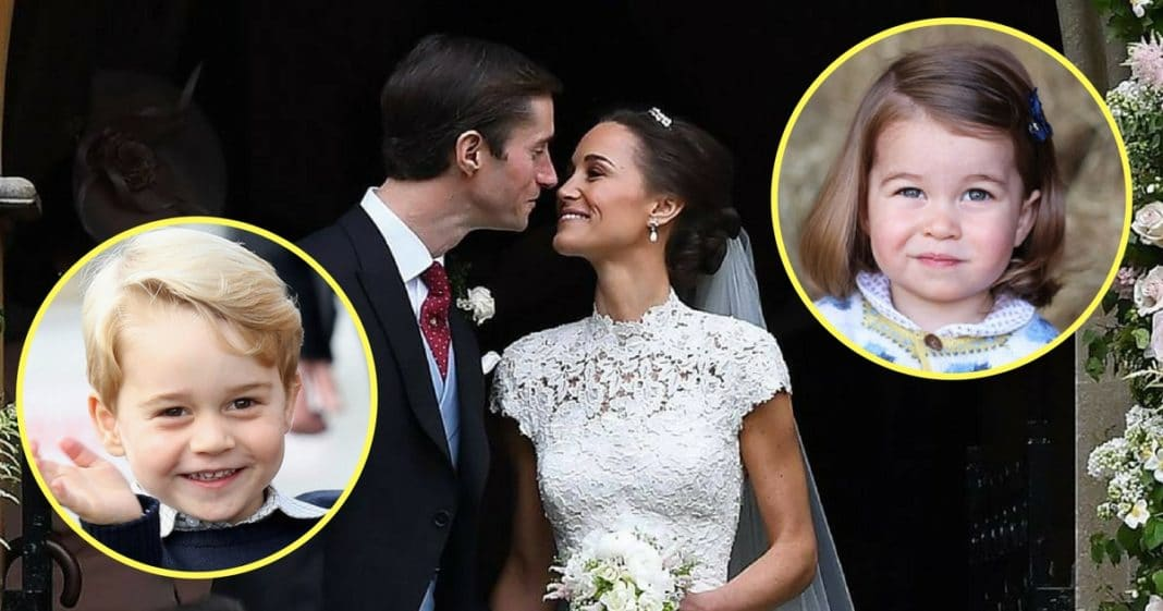 Prince George And Princess Charlotte Steal The Show At Aunt Pippa's Wedding