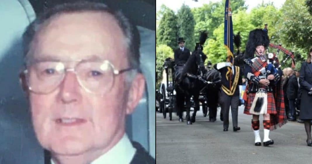 WWII Vet Dies With No Family Or Friends, But Look Who Shows Up To His Funeral