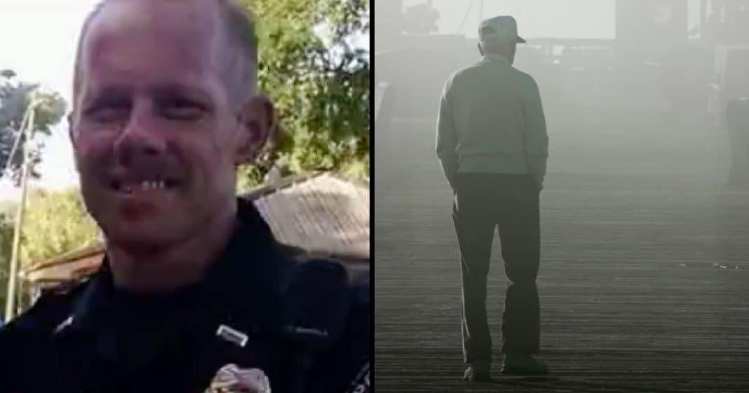 Off-Duty Cop Sees Elderly Vet On Road. When He Tells His Story Cop Breaks Down In Tears
