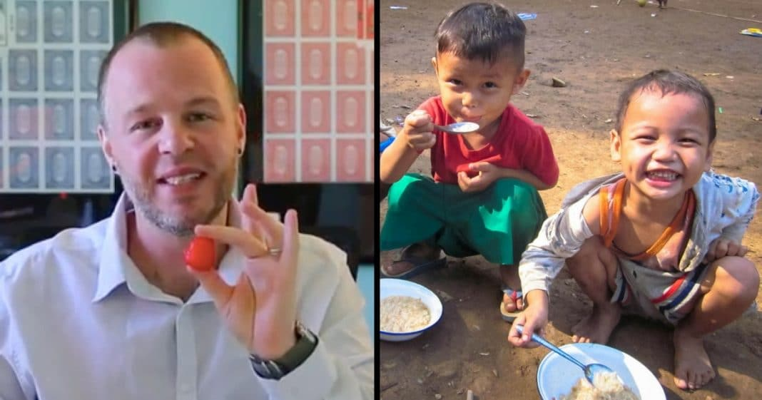 This Magician Is Going To Make World Hunger Disappear
