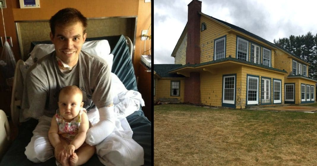 Quadruple Amputee Vet Transforms Crumbling Estate. What He Does With It Left Me Speechless