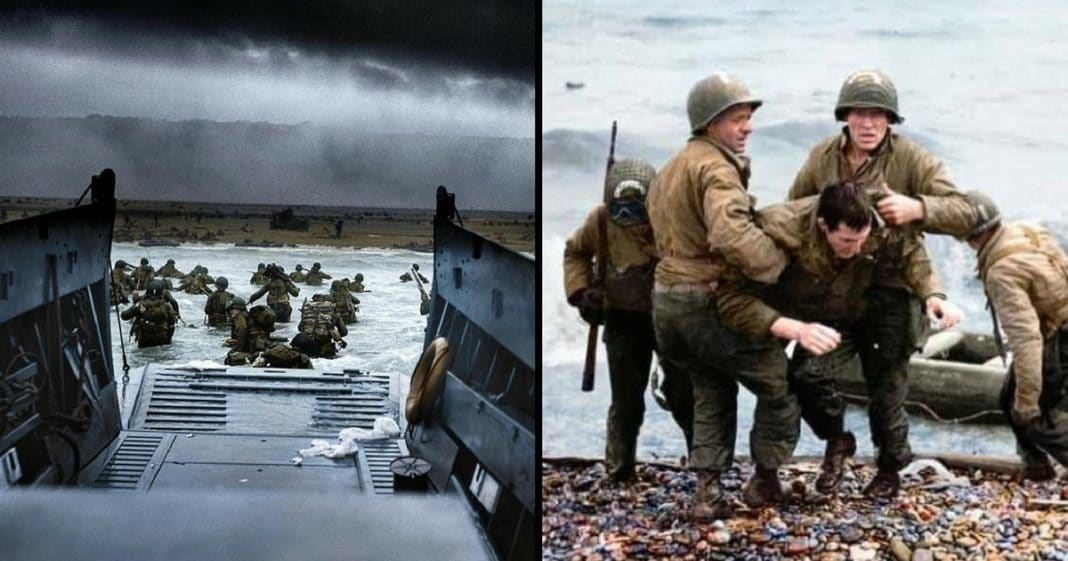 Colorized Photos Make Normandy Invasion Come To Life On 73rd Anniversary Of D-Day
