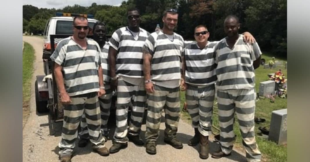 Sheriff Announces Incredible Reward For 6 Inmates Who Saved Officer's Life
