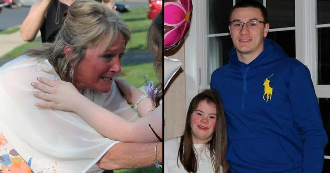 Teen Promises To Take Girl With Down Syndrome To Prom. What He Just Did Has Mom In Tears