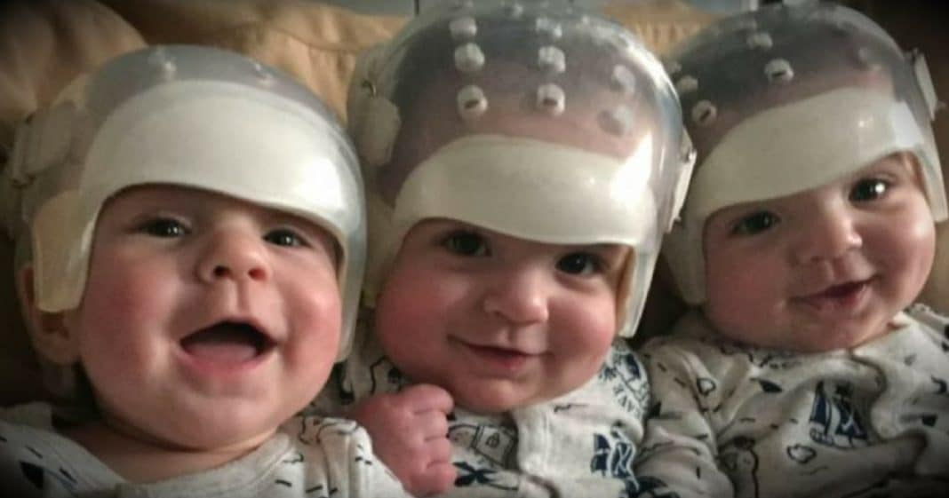 These brothers are the 'rarest triplets in the world' – and they just made history