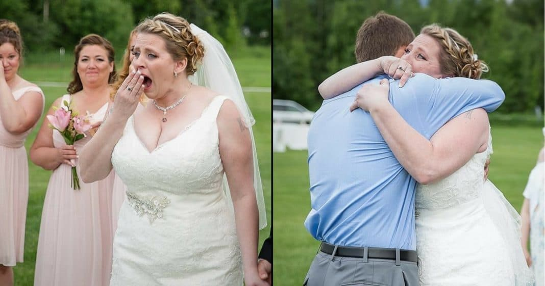 Bride Confused When Groom Stops Wedding. When She Sees Why She Breaks Down In Tears